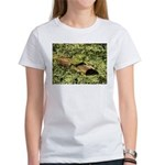 Bullfrog in green is King Women's T-Shirt