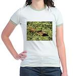 Bullfrog in green is King Jr. Ringer T-Shirt