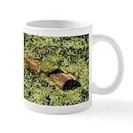 Bullfrog in green is King Mug