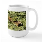 Bullfrog in green is King Large Mug