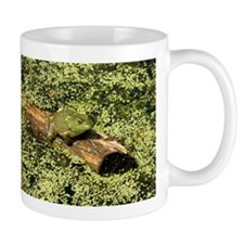 Bullfrog in green is King Mug