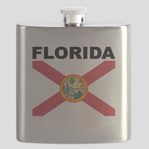 Florida State Flag Flask