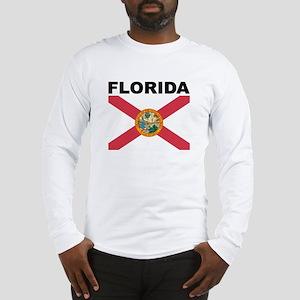 Florida State Flag Long Sleeve T-Shirt