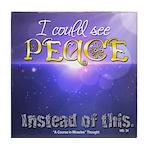 ACIM-I Could See Peace Tile