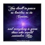 ACIM-You Dwell in Peace Tile