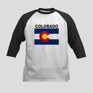 Colorado State Flag Baseball Jersey