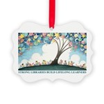 Magical Reading Tree Picture Ornament