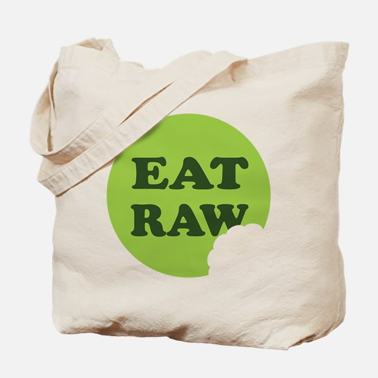 Eat Raw Tote Bag