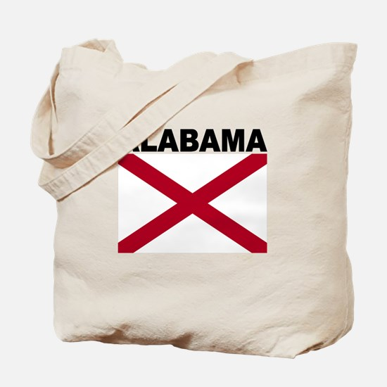 Alabama State Flag Tote Bag