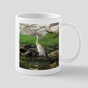 Sandhill Crane on Patrol LS Mug