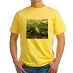 Sandhill Crane on Patrol LS T-Shirt