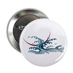 """Japanese wave art 2.25"""" Button (10 pack)"""