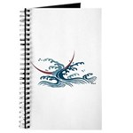 Japanese wave art Journal