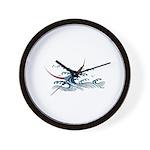 Japanese wave art Wall Clock
