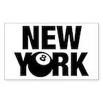 NEW YORK 8 BALL Sticker