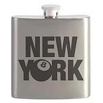 NEW YORK 8 BALL Flask