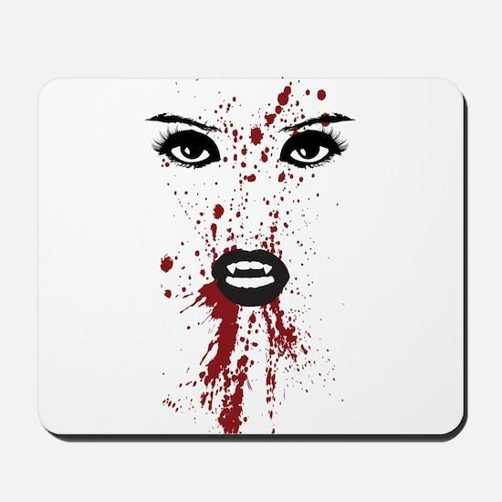 Vampire Splatter Mousepad
