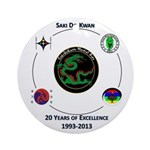 Saki Do Kwan 2013 Ornament (Round)