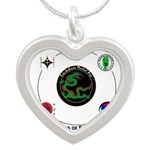 Saki Do Kwan 2013 Silver Heart Necklace