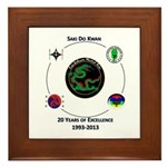 Saki Do Kwan 2013 Framed Tile