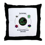 Saki Do Kwan 2013 Throw Pillow