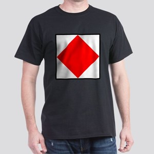 Nautical Flag Code Foxtrot T-Shirt