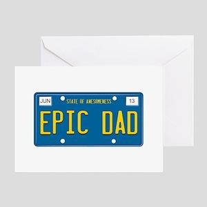 EPIC DAD Greeting Card