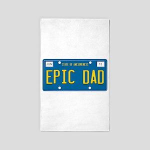 EPIC DAD 3'x5' Area Rug