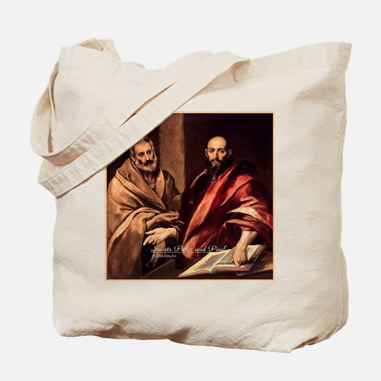 Saints Peter and Paul Tote Bag