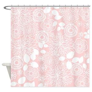 Rose brown shower curtains cafepress mightylinksfo