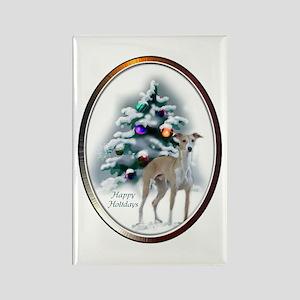 Italian Greyhound Chris Rectangle Magnet (10 pack)