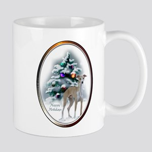 Italian Greyhound Christmas 11 oz Ceramic Mug