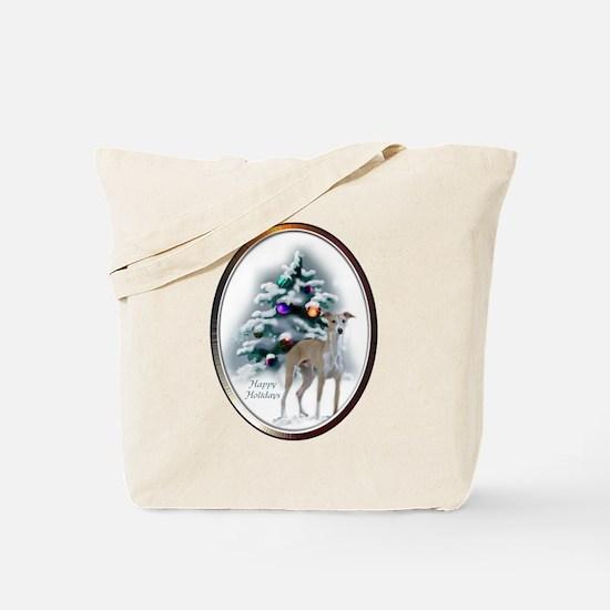 Italian Greyhound Christmas Tote Bag