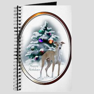 Italian Greyhound Christmas Journal
