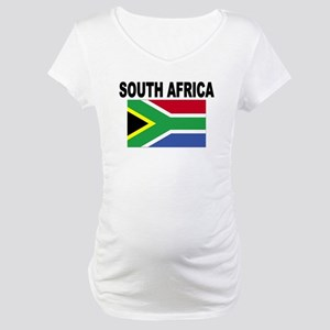 South Africa Flag Maternity T-Shirt