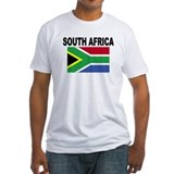 Africa Fitted Light T-Shirts