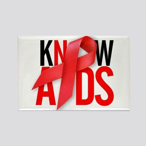 Aids T-Shirts World AIDS Day Rectangle Magnet