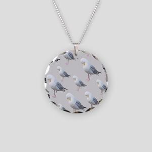 Preening Gulls. Necklace