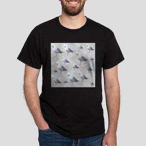 Preening Gulls. T-Shirt