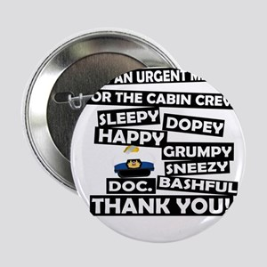 "Cabin Pressure - Dwarf names 2.25"" Button"