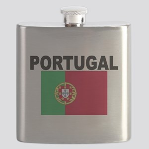 Portugal Flag Flask