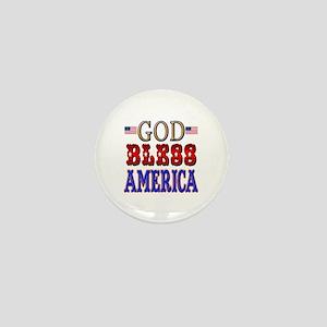 GOD BLESS AMERICA Mini Button