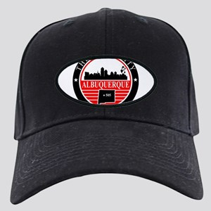 Albuquerque logo black and red Baseball Hat