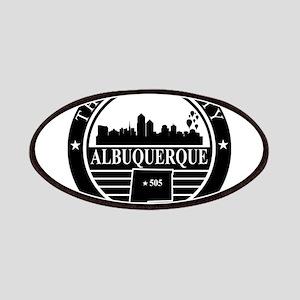 Albuquerque logo black and white Patches