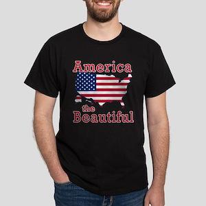 AMERICA the BEAUTIFUL Dark T-Shirt