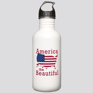 AMERICA the BEAUTIFUL Stainless Water Bottle 1.0L