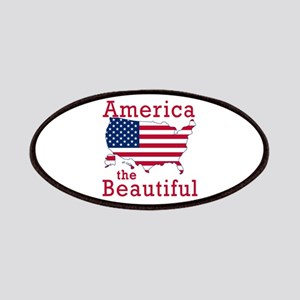 AMERICA the BEAUTIFUL Patches