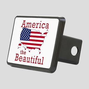 AMERICA the BEAUTIFUL Rectangular Hitch Cover
