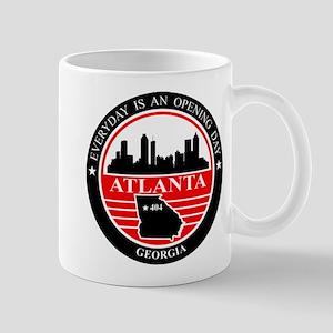 Atlanta logo black and red Mug
