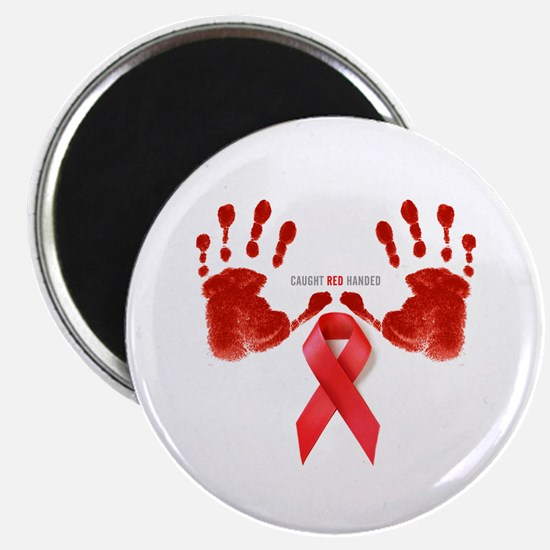 """Aids T-Shirts World AIDS Day 2.25"""" Magnet (10 pack"""